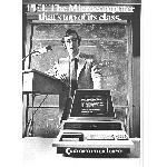 Commodore PET advert 2 cover