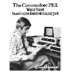 Commodore PET advert 1 cover